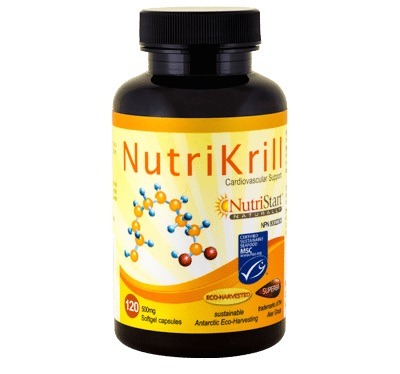 NutriStart Omega-3 krill oil for acne