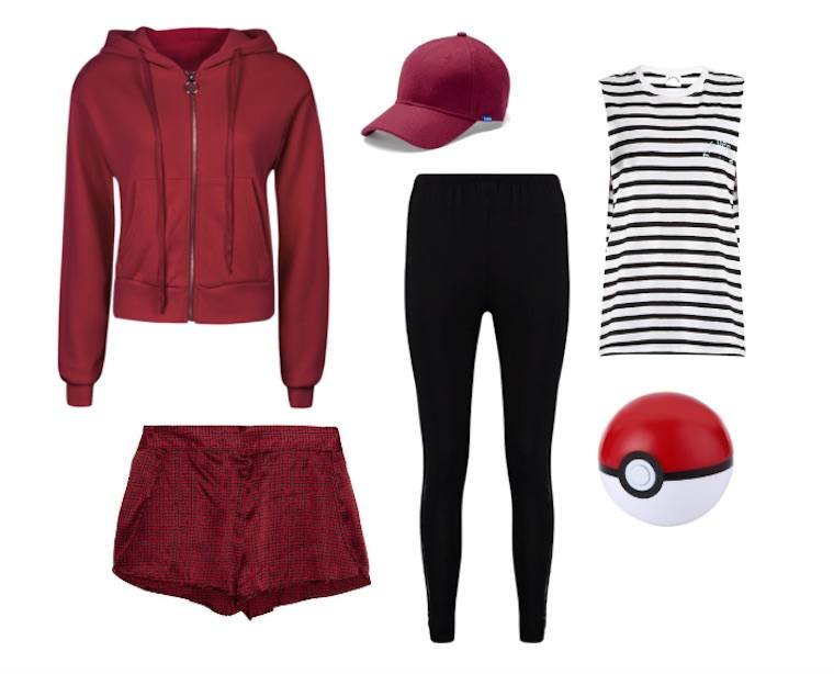 easy last minute halloween costume pokemon go trainer