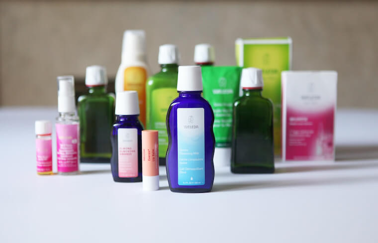 Weleda biodynamic beauty products