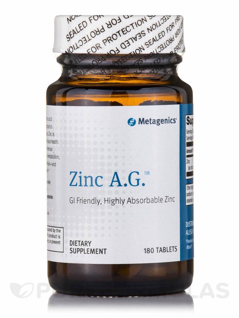 metagenics zinc for acne