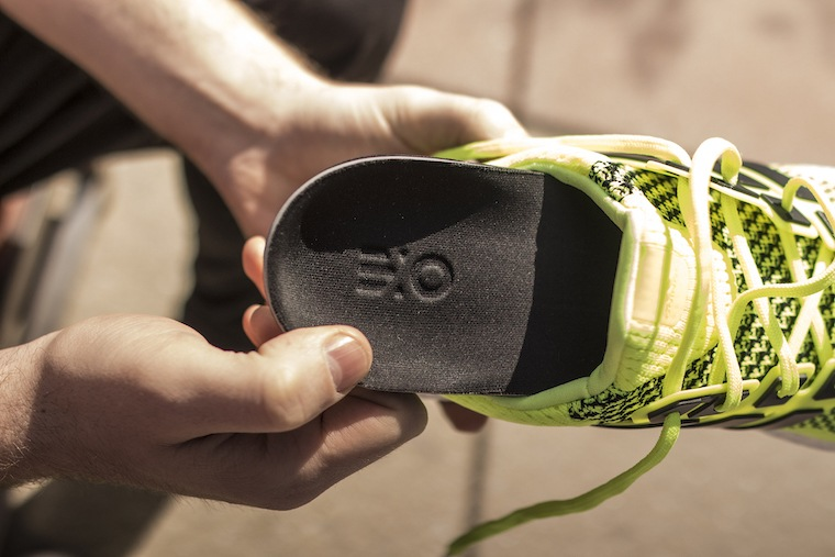 ExoSOLS 3D sneaker orthotics