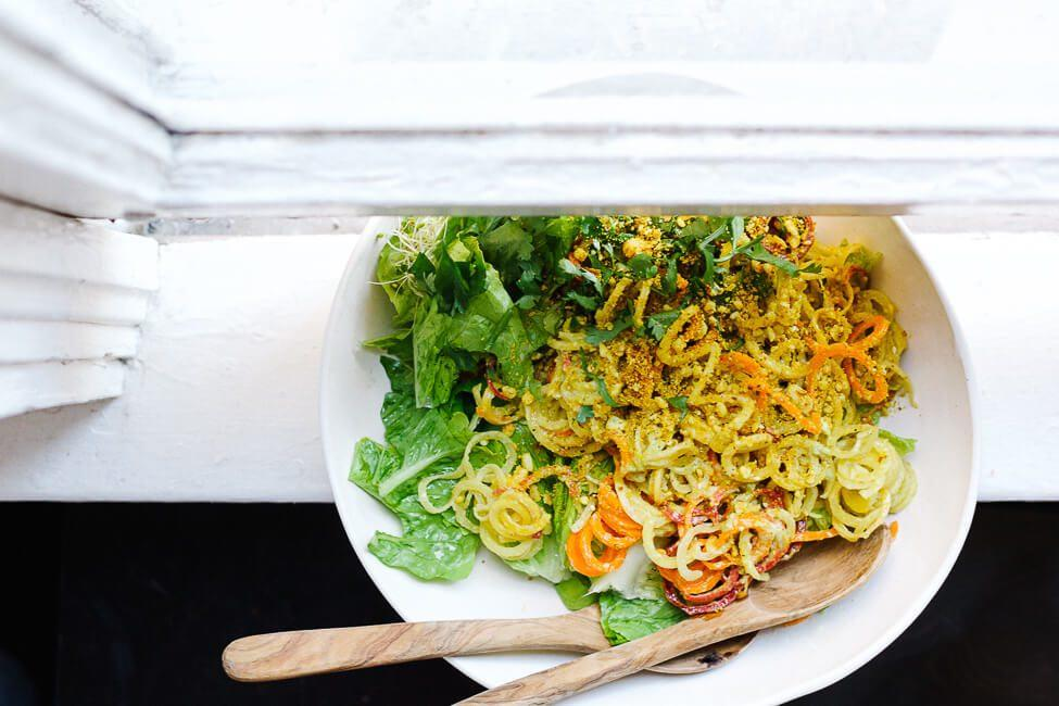 Wholehearted Eats Heirloom Carrot Salad with Turmeric Dukkah recipe