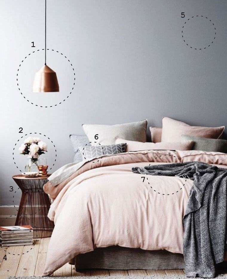 How to design a bedroom inspired by instagram well good for Minimalist single bedroom