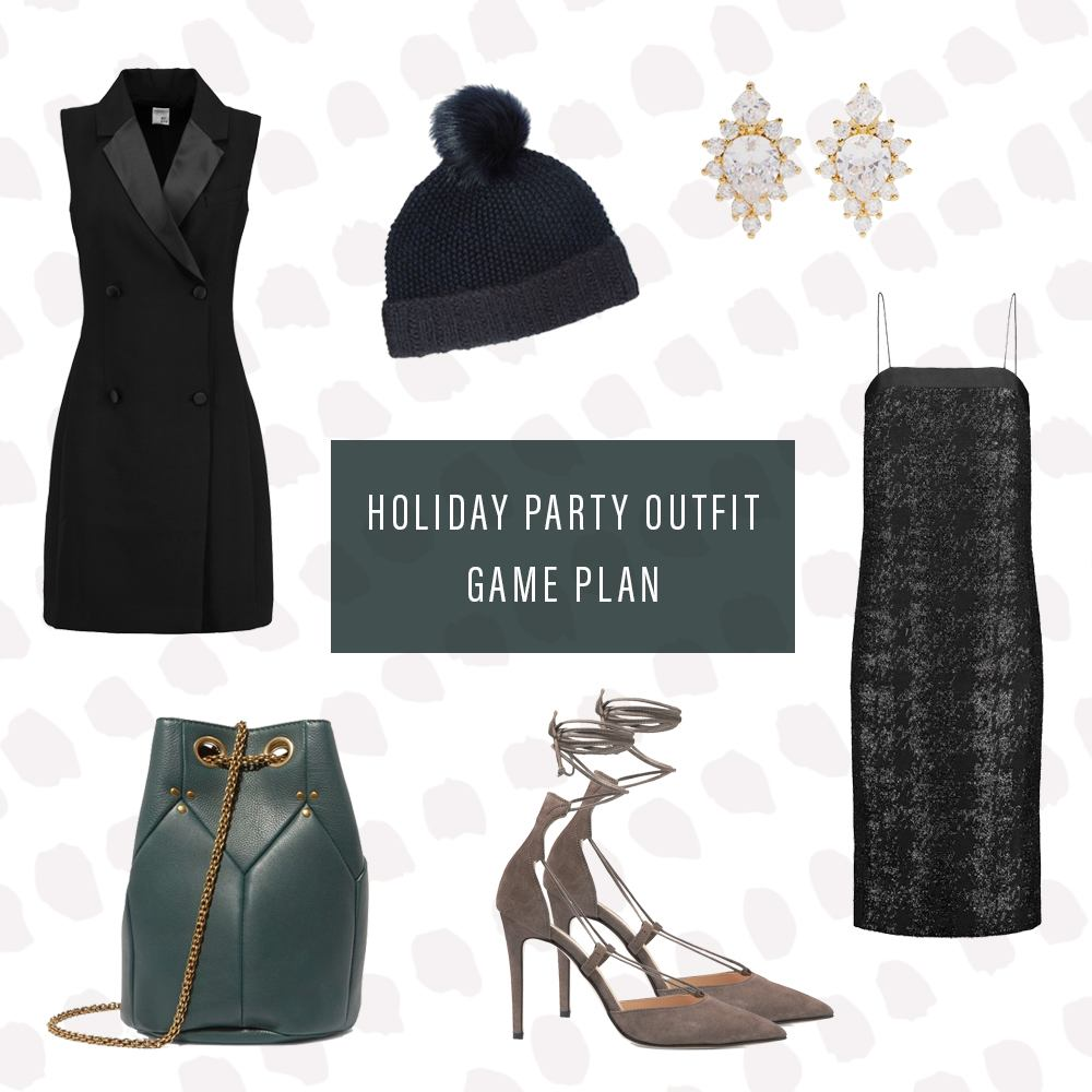 Thumbnail for The last-minute holiday party outfit game plan