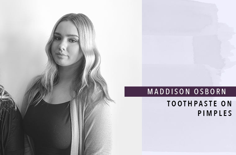 Maddison Osborn, co-founder of Raw Complexions
