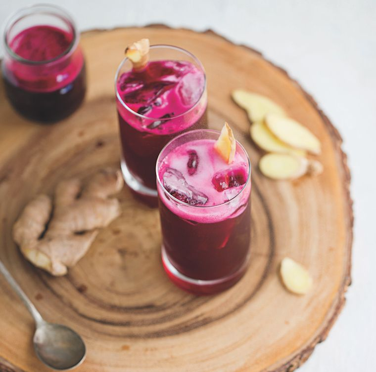 So Bloody Lovely beet mocktail recipe
