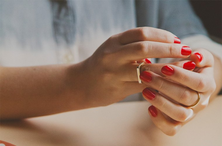 gel manicures just got safer