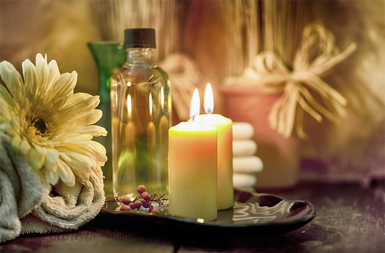 best candles for a sacred ritual bath
