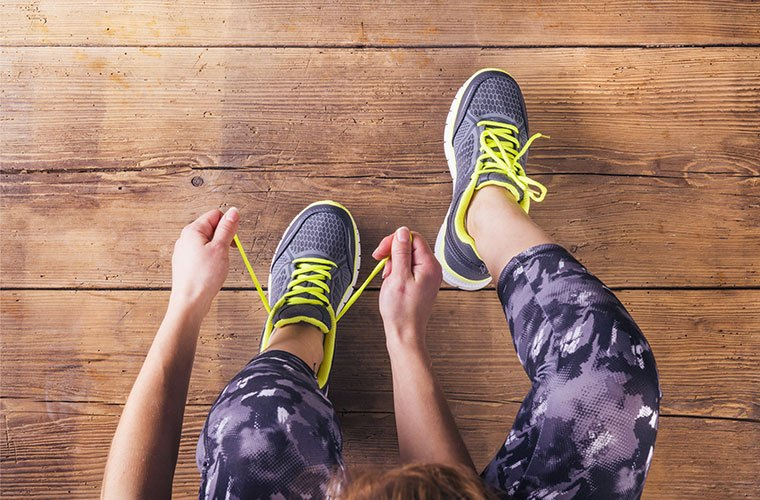 importance of good shoes for working out at the gym