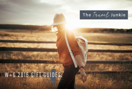 Healthy Holiday Gift Guide: What to get the Travel Junkie