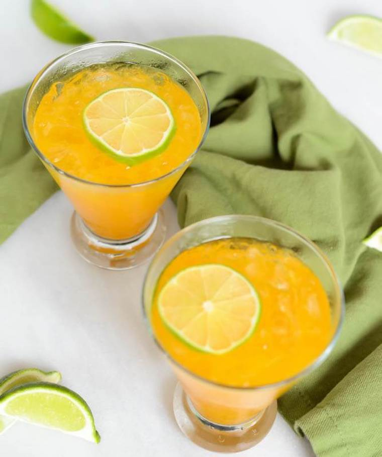 Cali Girl Cooking's Turmeric gin & ginger cocktail