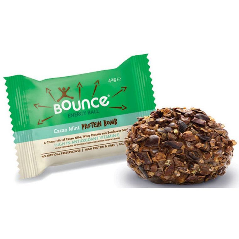 Bounce protein bomb balls