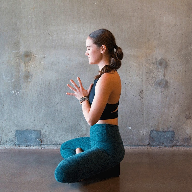 This yoga and meditation sequence will keep you calm until the end of the election