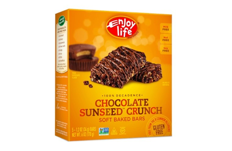 Enjoy Life Chocolate Sunseed Crunch Soft Baked Bars