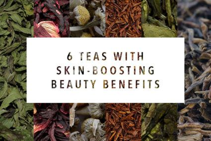 6 teas to drink for seriously radiant skin