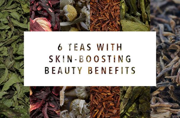 Top 6 teas to drink for seriously  radiant skin