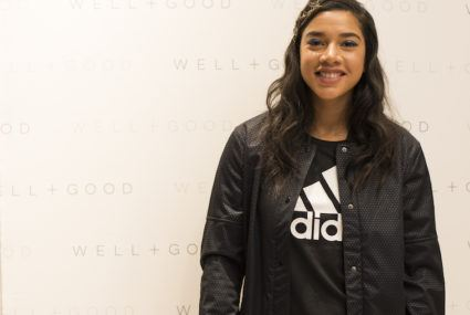 All the must-know styling tips Hannah Bronfman dished at our adidas party