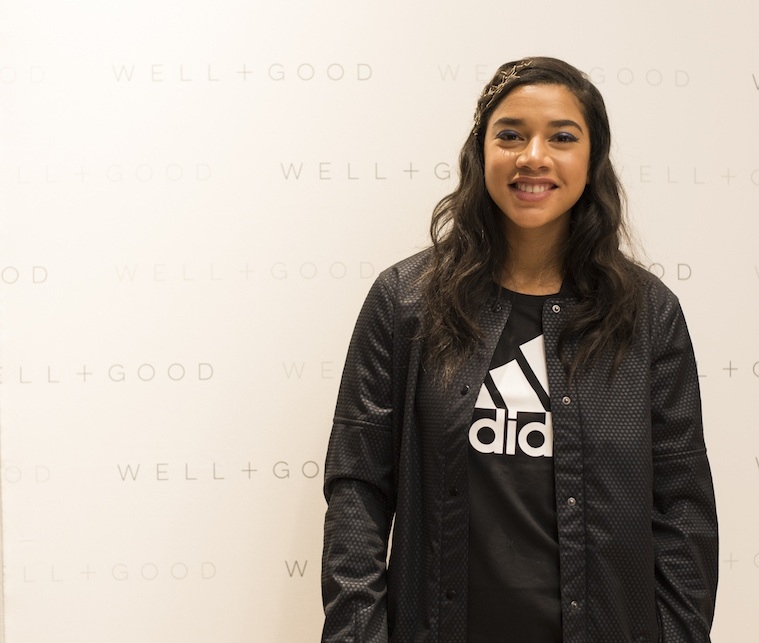 Thumbnail for All the must-know styling tips Hannah Bronfman dished at our adidas party
