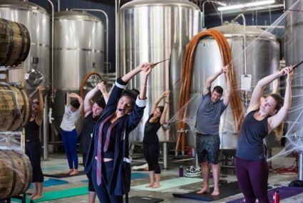 Harry Potter yoga exists, and it's truly magical