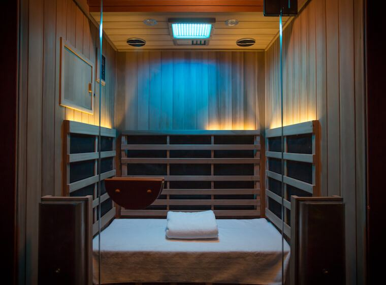 High Dose infrared sauna NYC