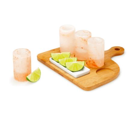 himalayan sea salt tequila glasses