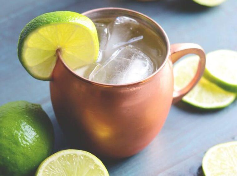 In it 4 the Long Run's Kombucha Moscow mule