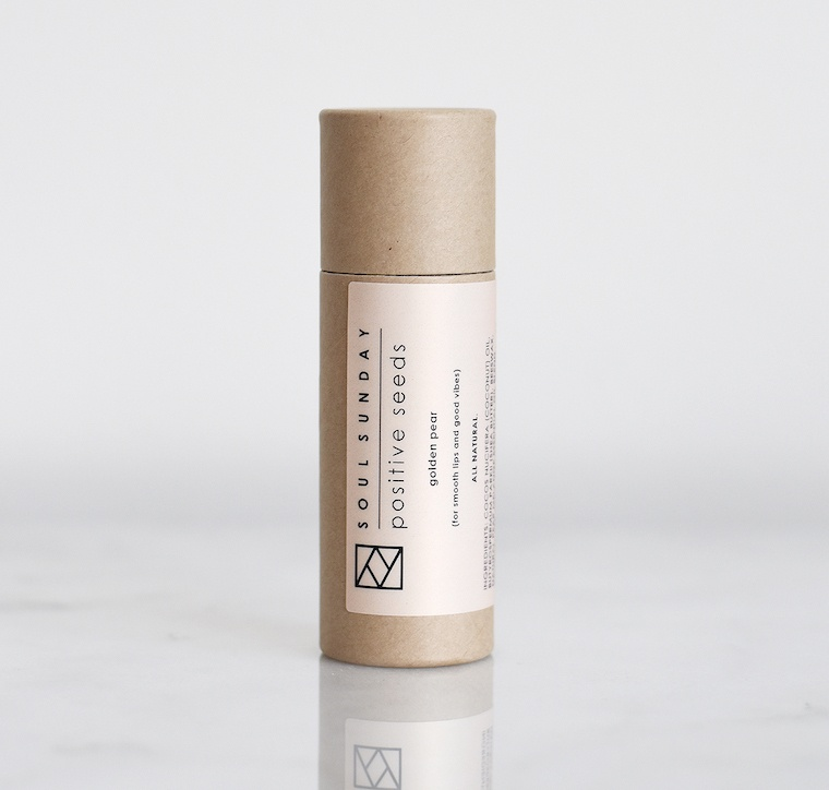 soul sunday lip balm
