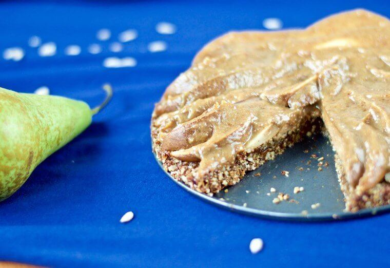 Win Win Food Pear Tart recipe