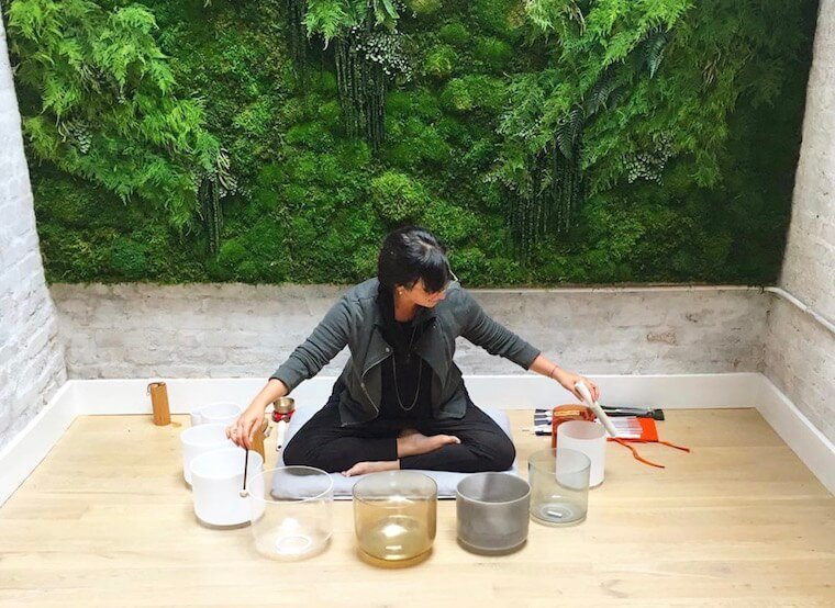 Listen to this sound bath recording for some super-healing self care