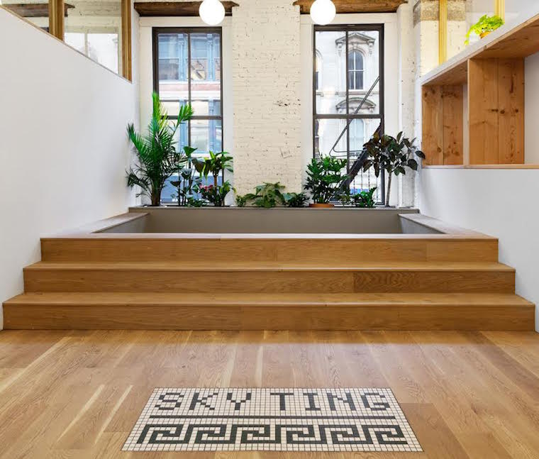 Thumbnail for Sky Ting Yoga opens a brand new—and way bigger—urban oasis this week