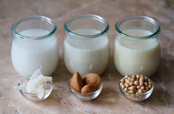 When it comes to nut milk, what's the most sustainable option?