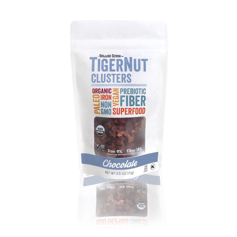 Tigernut Raw Chocolate Clusters