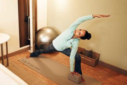 Wellness Goes In-Room at Hotels