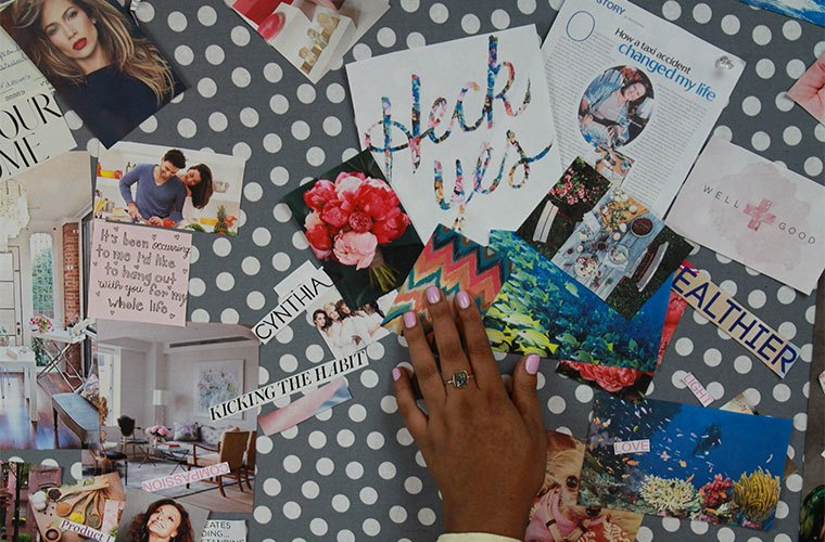 How to make a vision board with Nitika Chopra
