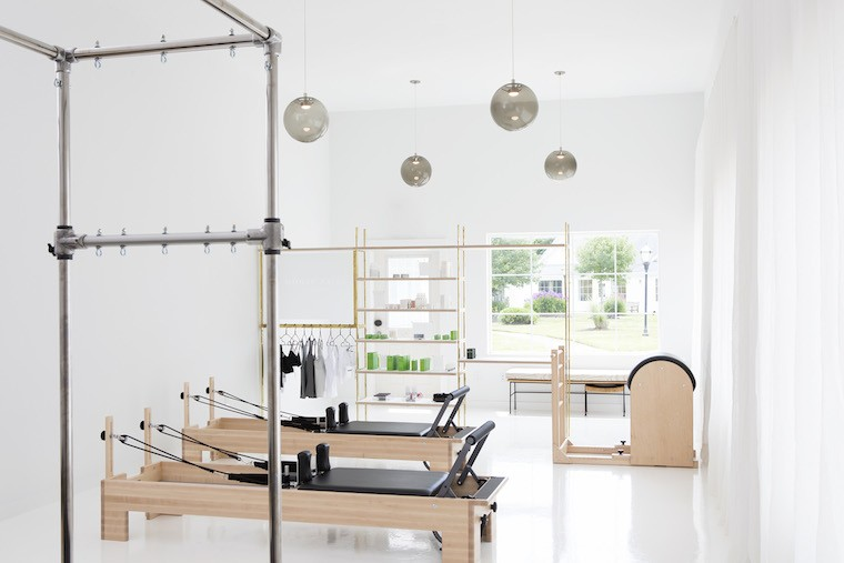 Erika Bloom Pilates in Water Mill, New York (Photo: Courtesy Erika Bloom Pilates)