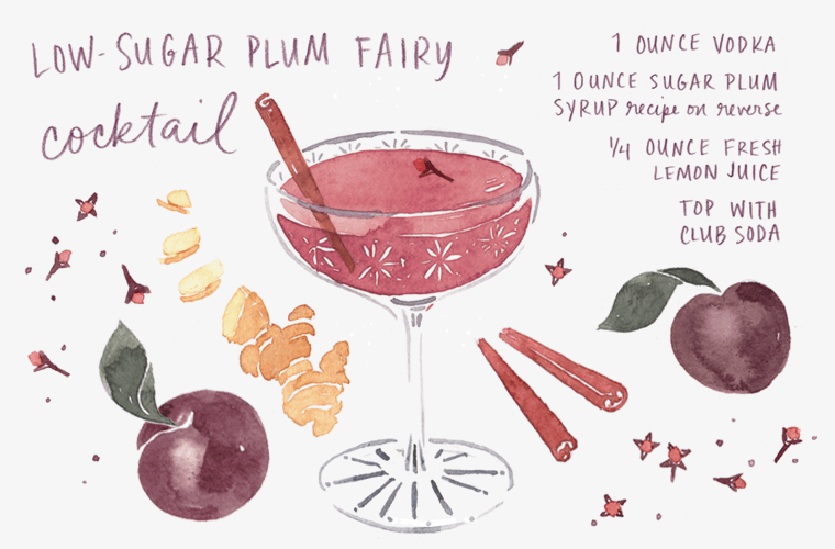 Thumbnail for The Low-Sugar Plum Fairy cocktail has landed