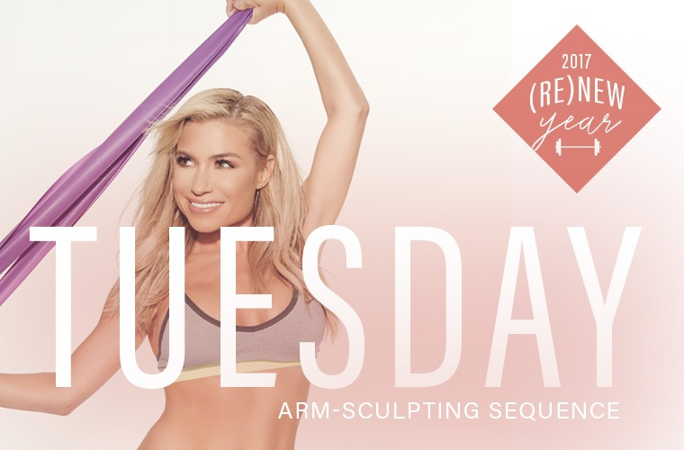 Thumbnail for How to tone your arms in 3 minutes, the Tracy Anderson way