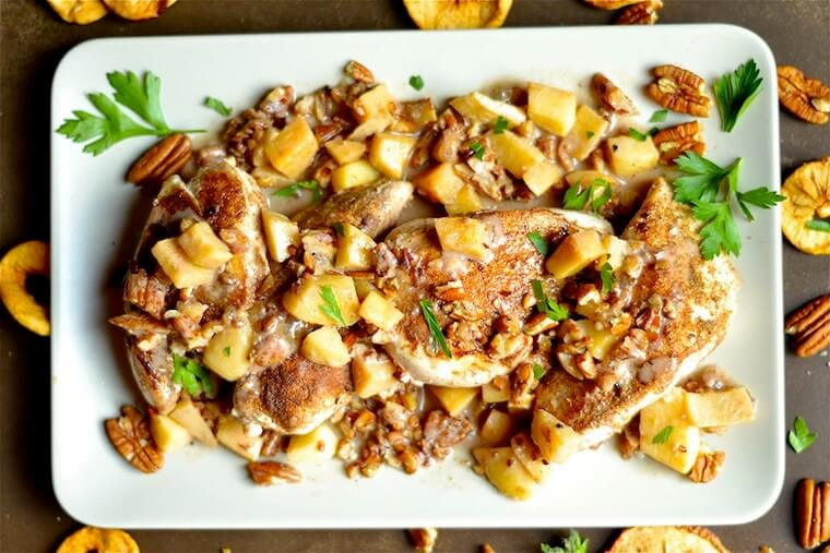 whole 30 apple pecan chicken