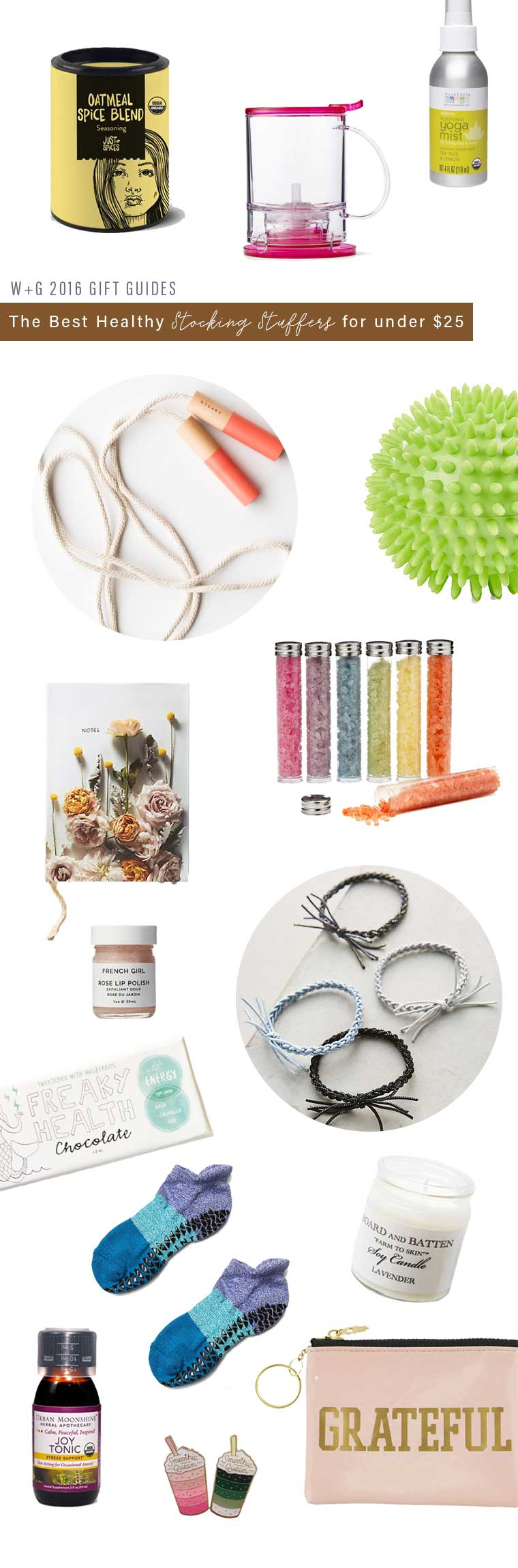 Healthy Stocking Stuffers For Under 25 Well Good