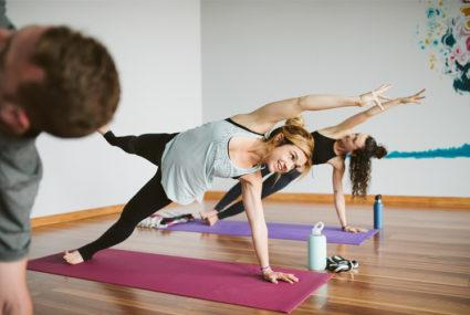 Co-ed yoga Nude Photos 86