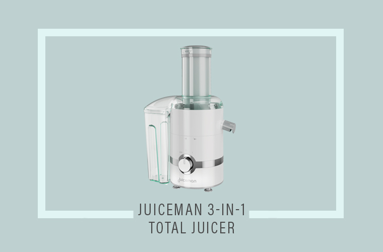 Top 5 Juicers: Juiceman 3-In-1 Total Juicer