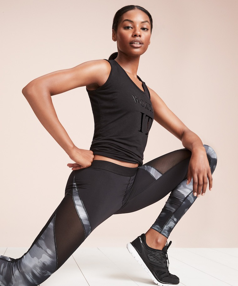 Thumbnail for Target's latest fitness fashion collab features loads of leggings—courtesy of a dance cardio superstar