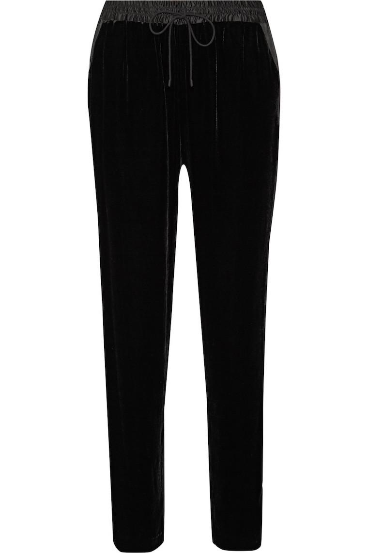 black-velvet-track-pants