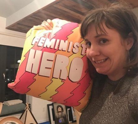 Lena Dunham is investing in making periods great again