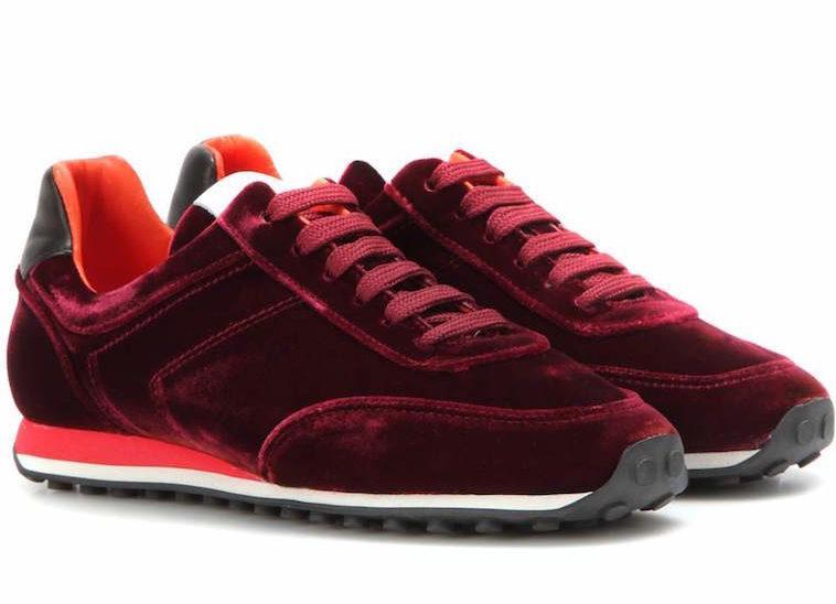 Rag & Bone Dylan Velvet Sneakers