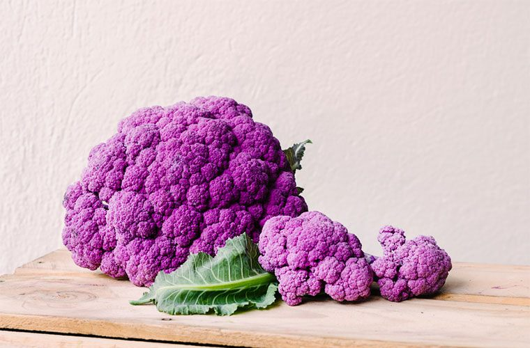 Whole Foods 2017 trend: purple cauliflower
