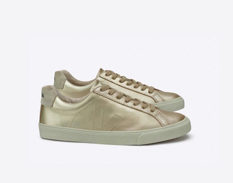 Veja Esplar Leather Gold