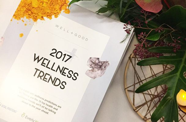 Get an inside look at Well+Good's 2017 Wellness Trends bash