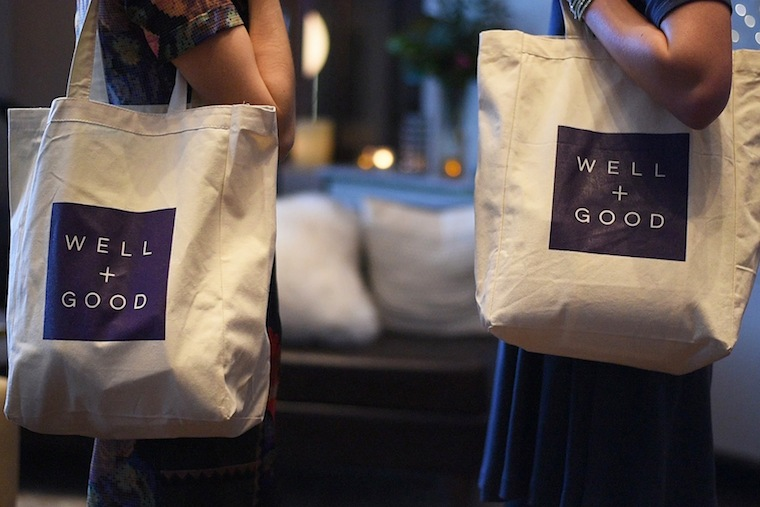 All guests were treated to a gift bag on their way out the door. Photo: Tim Gibson