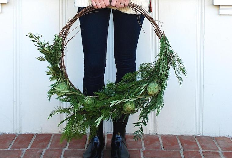 Thumbnail for The DIY holiday wreath you can craft from healthy kitchen ingredients